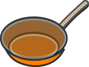 Copper Pan Clip Art