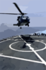 Sh-60 Seahawk Conducts Deck Landing Qualifications Clip Art