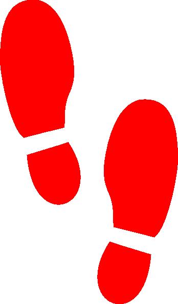 Shoe Print Hi on Dance Foot Prints
