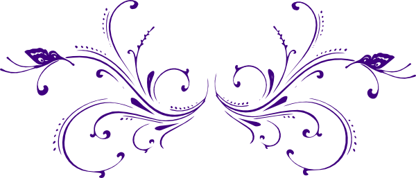 purple butterfly scroll clip art at clker com vector clip art online  royalty free   public domain green leaf clip art free green leaf clipart png