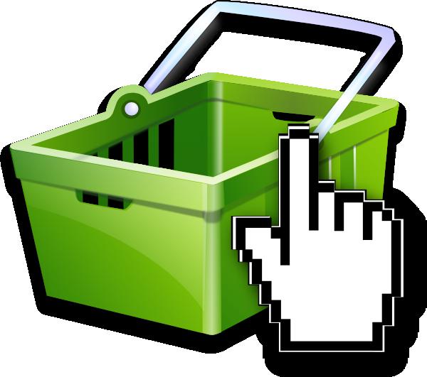 online shopping basket clip art at vector clip. Black Bedroom Furniture Sets. Home Design Ideas
