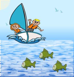 Here Is The Sea Clip Art At Clker Com Vector Clip Art