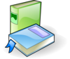 Two Books Clip Art