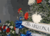 Ceremonial Wreaths Are Arranged In The Shrine Room Of The Uss Arizona Memorial Clip Art