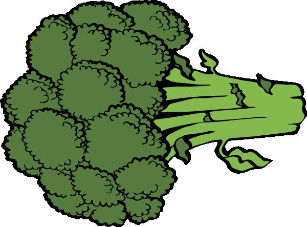 Broccoli Clip Art at Clker.com - vector clip art online ...