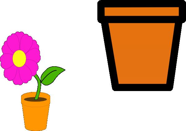 Flower Pots Clip Art at Clker vector clip art online