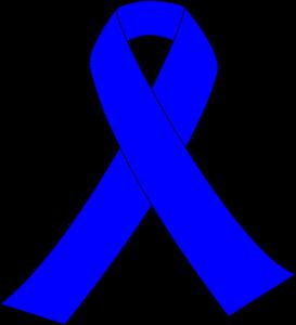 Blue Awareness Ribbon Clip Art At Clker Com Vector Clip