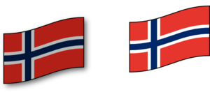 Norwegian Flag Clip Art