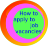 How To Apply To Job Vacancies Clip Art