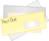Past Due Notice Clip Art