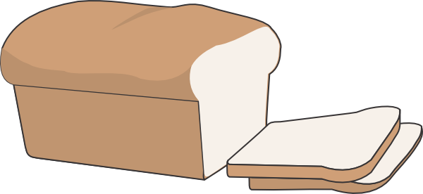 Loaf Of Bread Clip Art at Clker.com - vector clip art ...
