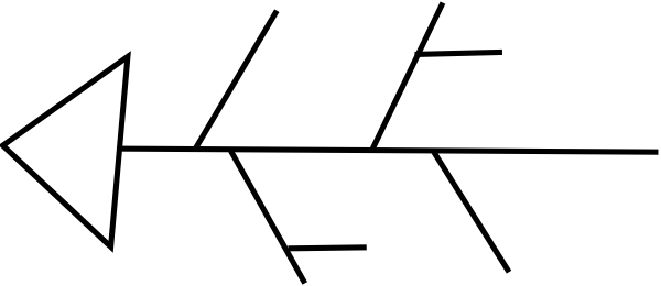 fishbone diagram clip art at clker com