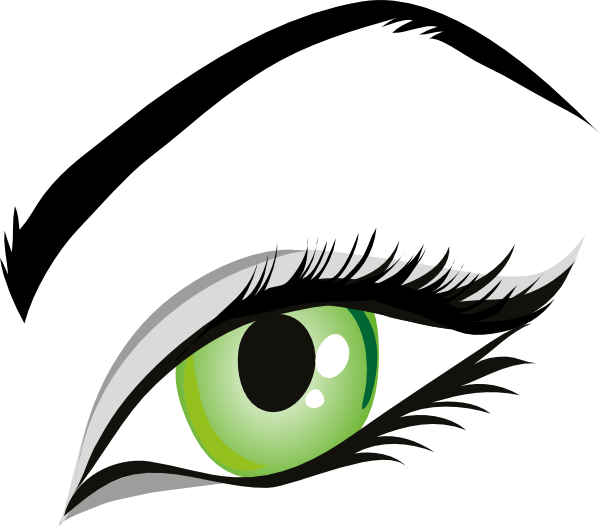 Girl with green eyes 8