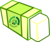 Erase The Waste Clip Art