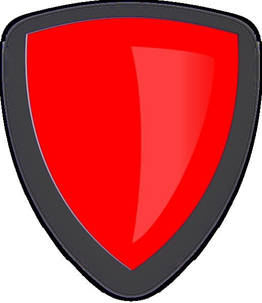 Red Shield Clip Art At Clker Com Vector Clip Art Online Royalty Free Amp Public Domain