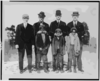 [abe Rachlin (prospect From Newark), Ad Brennan, Jim Moroney, Frank Scanlan, & Three Afro-american Boys Who Were Mascots (baseball)] Clip Art