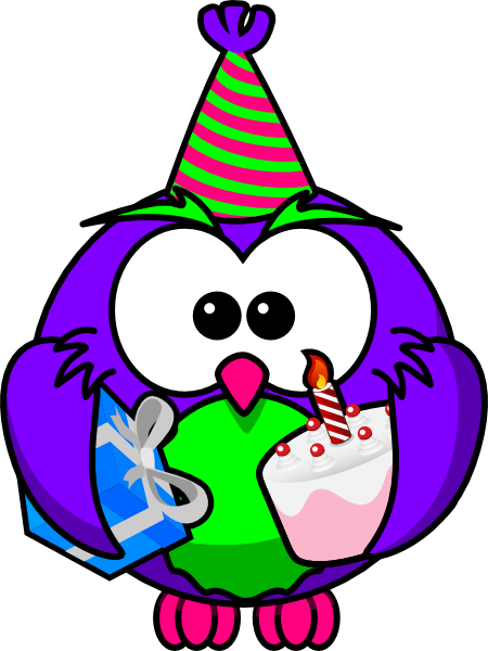 birthday owl clip art at clker com vector clip art free clipart penguin pictures Free Penguin Clip Art to Color