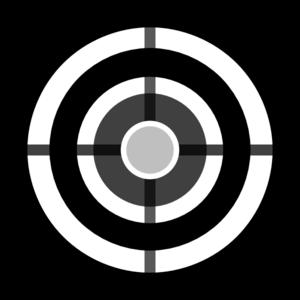 Grey Target Clip Art At Clker Com Vector Clip Art Online