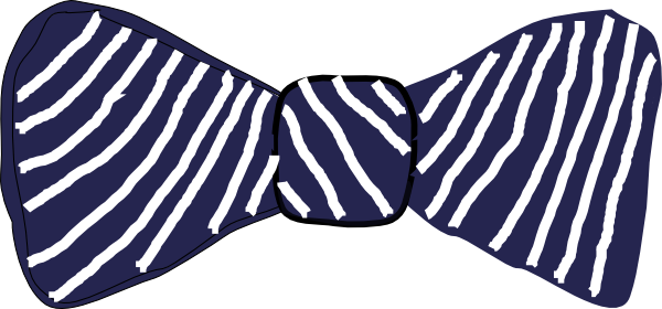 Stripes Clip Art at Clker.com - vector clip art online ... Stripe Bow Tie Png