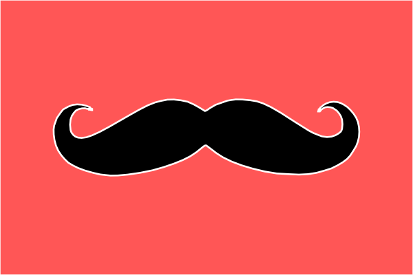 Mustache Clip Art at Clker.com - vector clip art online ...