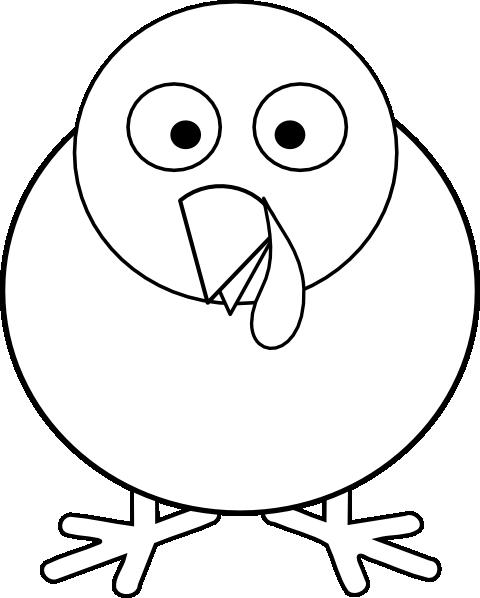 Round Turkey Clip Art Clip Art at Clker.com - vector clip ...
