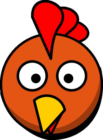 Chicken Head Clip Art at Clker.com - vector clip art ...