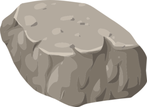 Alpine Landscape Rock Rubble Clip Art