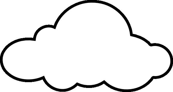 White Cloud Clip Art At Clker Com Vector Clip Art Online