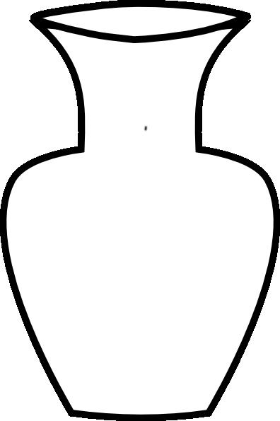 White Flower Vase Clip Art at Clker.com - vector clip art ...