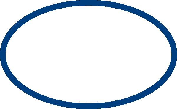 Blue Elliptical Form Clip Art At Clker Com