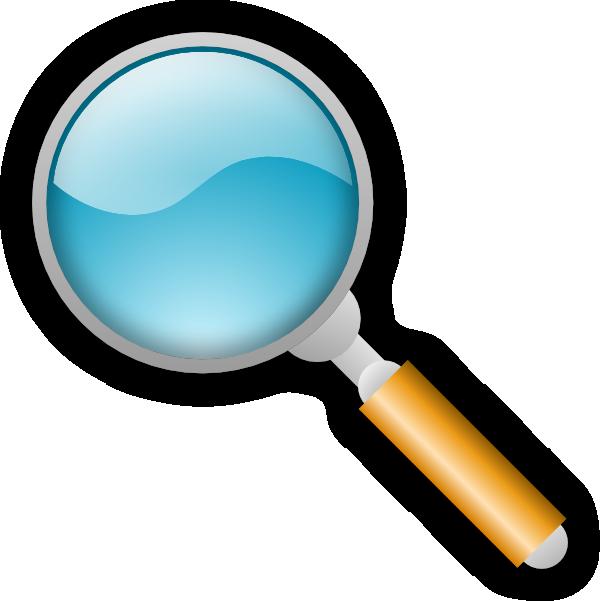 Magnifying Glass Clip Art at Clker.com - vector clip art ...