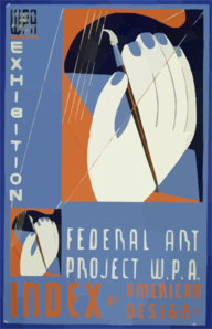 Wpa Federal Art Project In Ohio Presents Exhibition [of] Index Of American Design Clip Art