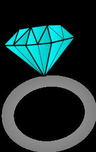 diamond ring clip art at clkercom vector clip art