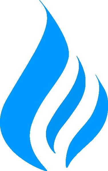 Blue Flame Simpleblue Clip Art at Clker.com - vector clip ...