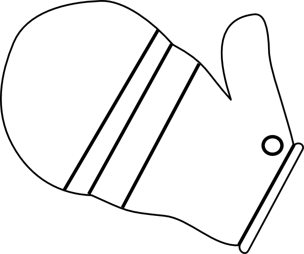Mitten Clip Art At Clker.com
