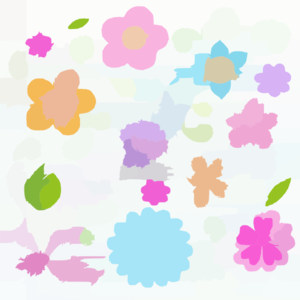 Flowers Colorful Sketchy Doodles Hand Drawn Back To School Notebook Vector Illustration Design Eleme Clip Art