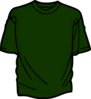 Green T-shirt Clip Art