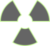 Radiation Green Transparent Clip Art