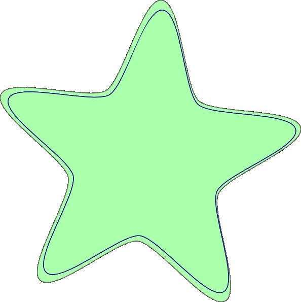 Baby Green Star Clip Art At Clker Com Vector Clip Art