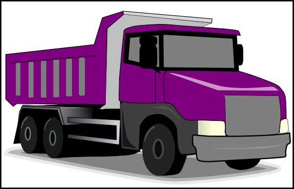 Purple Truck Clip Art At Clker Com Vector Clip Art
