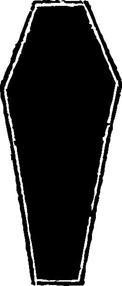 coffin blackout clip art at clker - vector clip art online