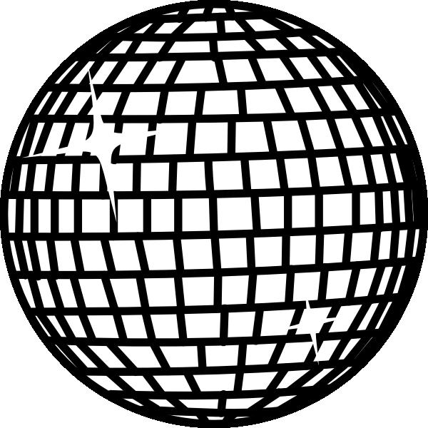 snow disco ball white clip art at clker  vector clip
