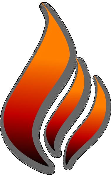 Flame (stylized) Clip Art at Clker.com - vector clip art ...