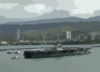 Uss Abraham Lincoln (cvn 72) Makes A Port Call At Pearl Harbor, Hawaii, On Its Way Home Clip Art