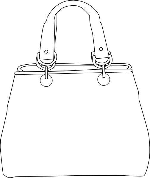 Coloring Pages Of Purses