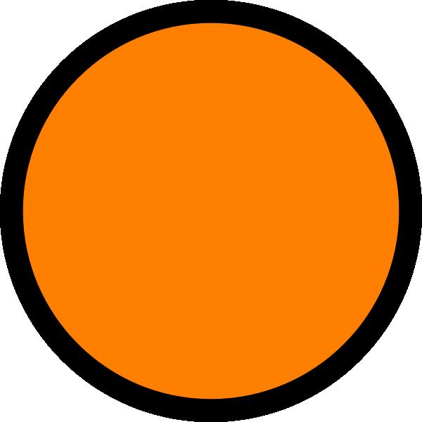 orange light clip art at clker com vector clip art