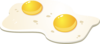 Fried Eggs Clip Art