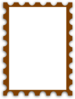 Blank Postage Stamp Clip Art