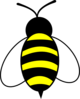 Large Bee Clip Art