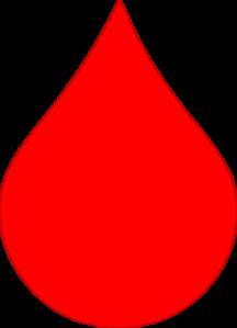 Red Rain Drop Clip Art At Clker Com Vector Clip Art